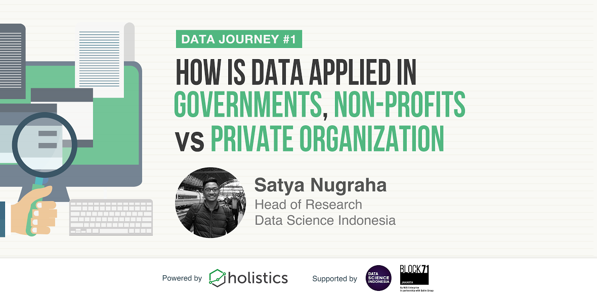 Data Journey #1 - How Is Data Applied In Governments, Non-profits vs