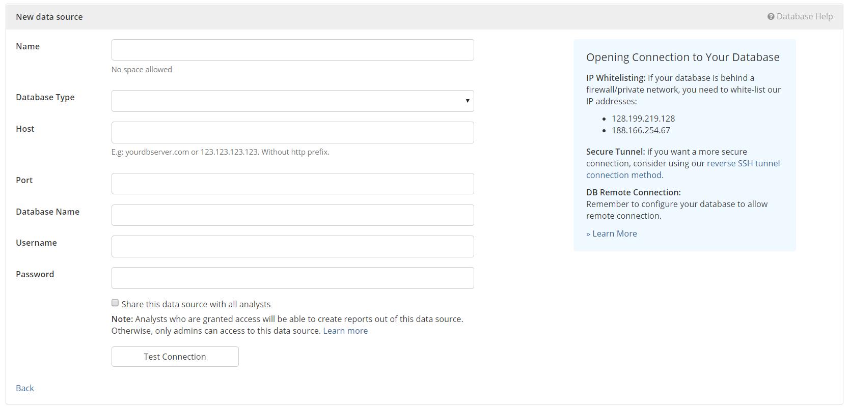 Add new data source ip