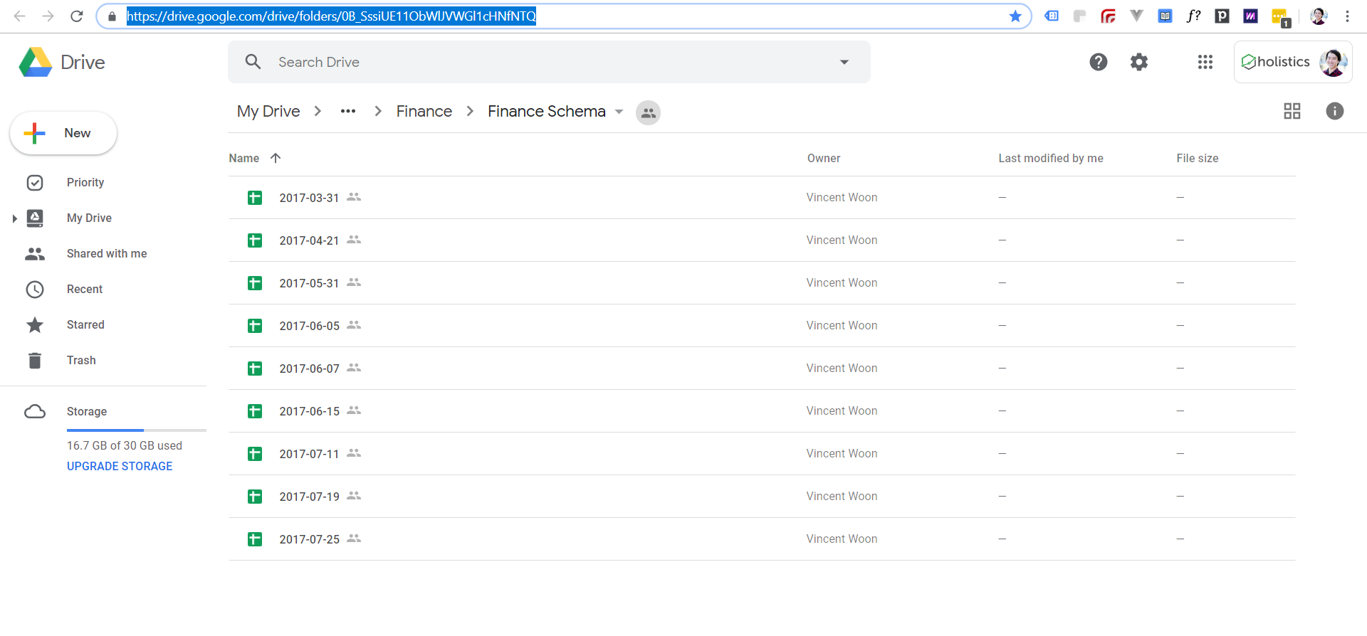 Import New Google Drive Folder Data Into Tables | Business