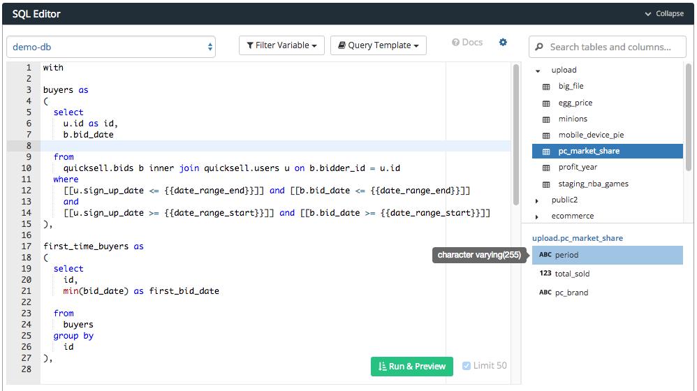 Write SQL Query